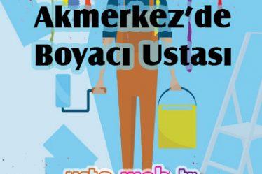 Akmerkez'de Boyacı Ustası