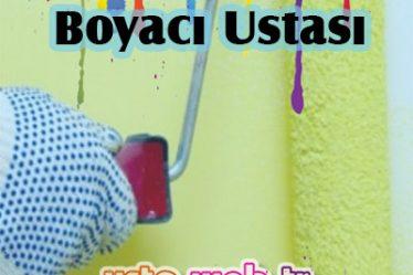 Bostancı'da Boyacı Ustası