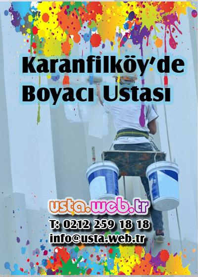 Karanfilköy'de Boyacı Ustası