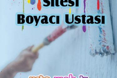 Park Maya Sitesi Boyacı Ustası