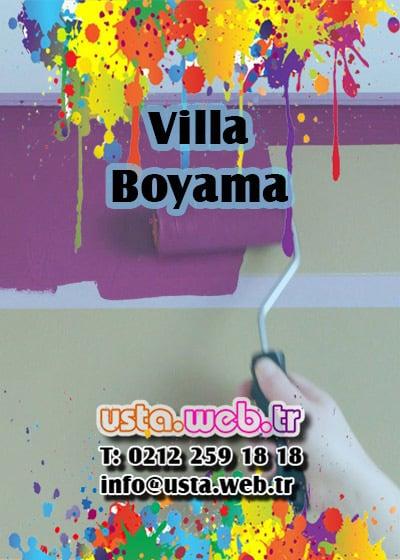 Villa Boyama için talepte bulunun